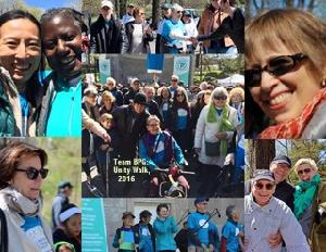 Unity Walk collage from 2015 Walk
